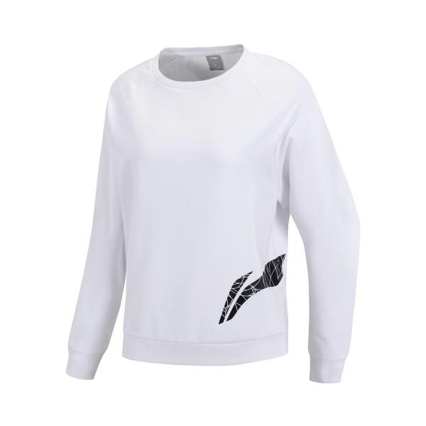 Damen/Mädchen Freizeit und Fitness Pullover weiß - AWDP118-1