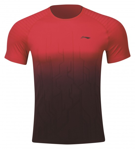 "Herren Sportshirt ""Red Slash"" - AAYP067-3"