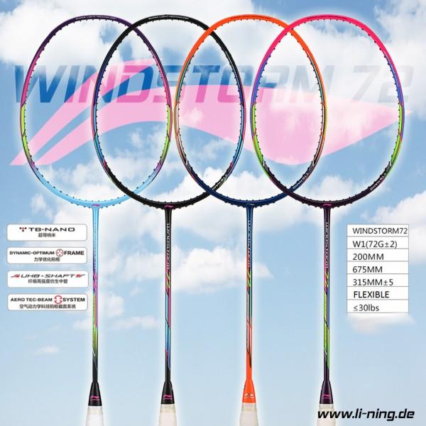 Badmintonschläger Windstorm 72 unbespannt