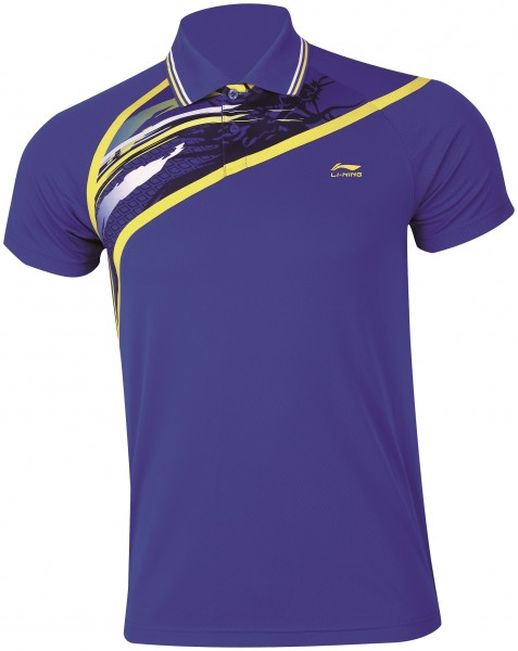 "Li-Ning AAYH002-2 Damen Polo Shirt ""Cross Blue"""