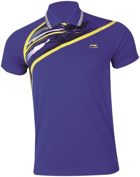 "Damen Poloshirt ""Cross Blue"" blau - AAYH002-2"