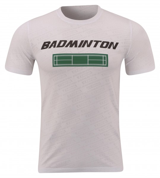 Badminton Culture Shirt Court weiß UNISEX - AHSP697-2