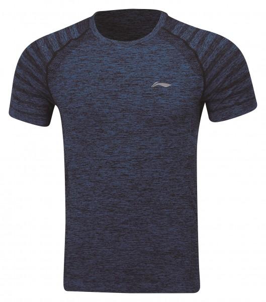 Unisex Sportshirt Seamless 2er Pack dunkelblau - ATSP145-2