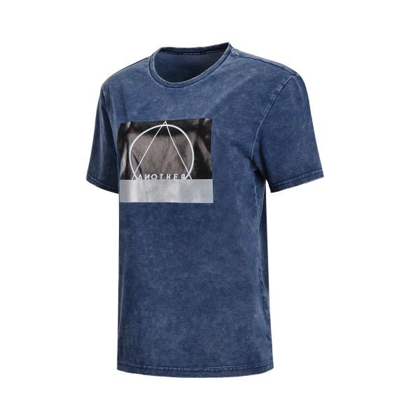 Freizeitshirt Jeans Shirt Another Space unisex blau - AHSN147-1