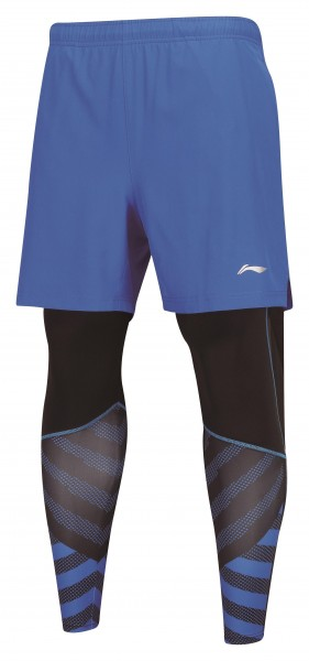 AAPN151-2 Leg Warmer Shorts Blue