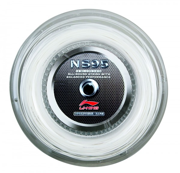 NS 95 Badmintonstring weiß 200m Rolle- AXJF032-1