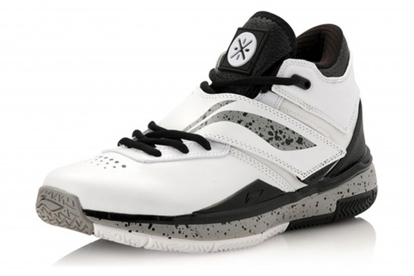 "Basketballschuh Way of Wade Serie ""Wade 808"" grau/weiß/schwarz - ABAK011-9"