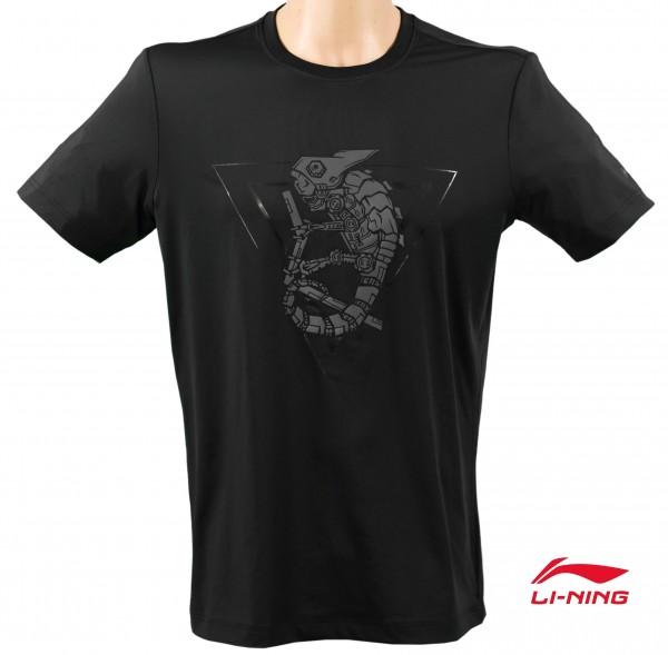 Streetwear Shirt Black Chameleon Men - AHSN213-1