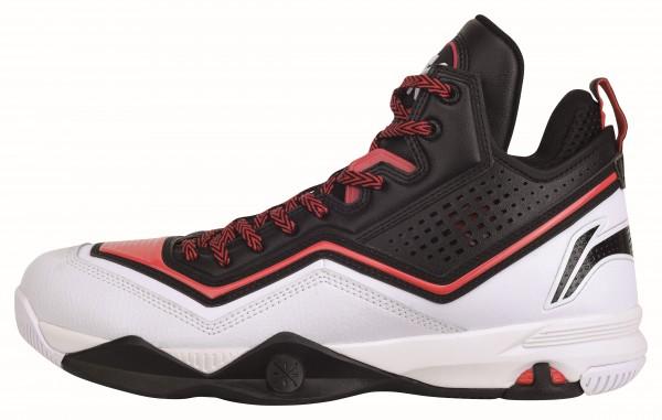 Basketballschuh Wade Fission Black/Red - ABFK005-1