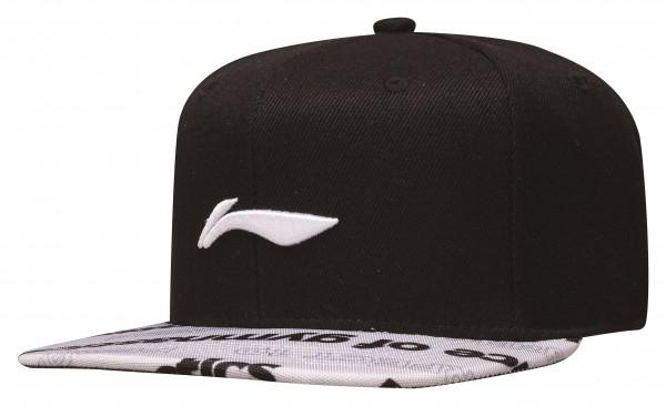 "Snapback Cap ""Prince of Gymnastics"" Li Ning Logo weiß - AMYP012-2"