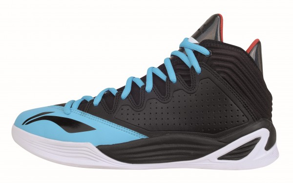 "Basketball Schuh ""Quicksand Low"" black/blue - ABFK001-2"