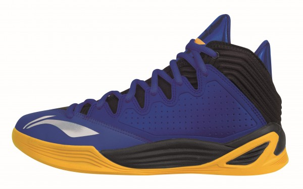 "Basketball Schuh ""Quicksand Low"" blue/yellow - ABFK001-5"