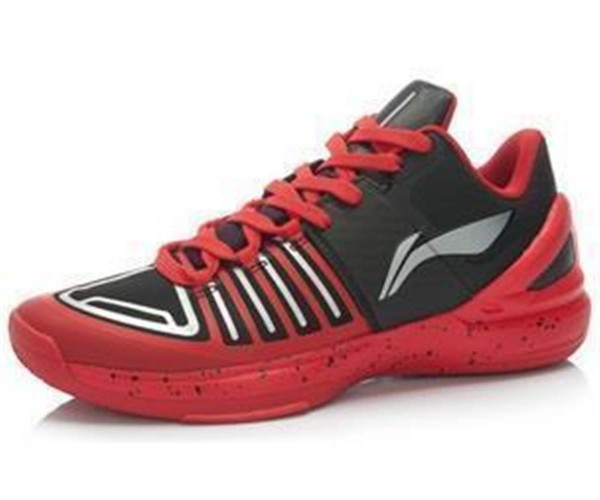 "Basketballschuh ""Speed Low"" black/red - ABAJ017-4"