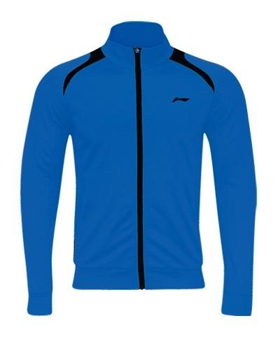 Herren Trainingsanzug Jacke blau - AWDK263-4