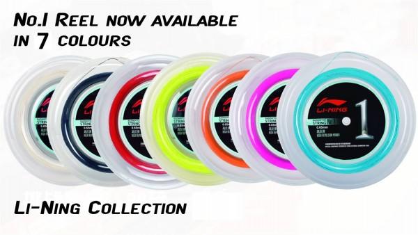 Badmintonsaite No.1 - 200m-Rolle in verschiedenen Farben - AXJJ072