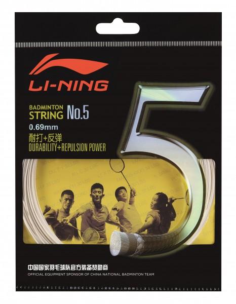 Badmintonsaite No.5 - 10m-Set - verschiedene Farben - AXJJ006